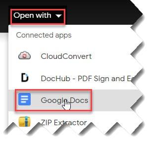 How to translate PDF Google Docs