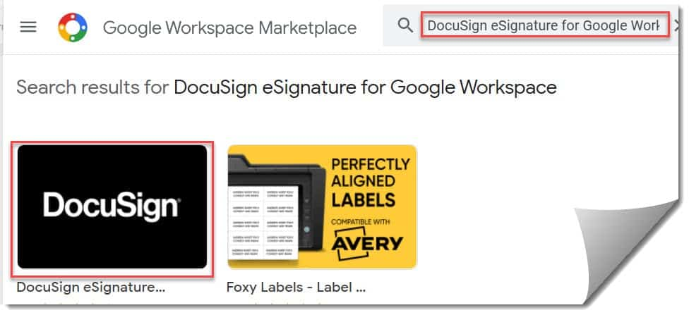 Use Docusign In Google Docs