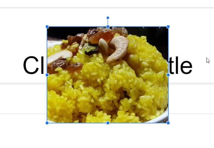 add watermark in google slides