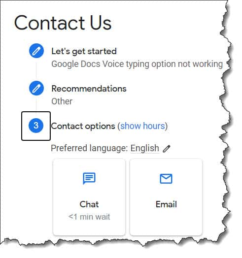 Fix Google Docs Voice Typing Not Working issue