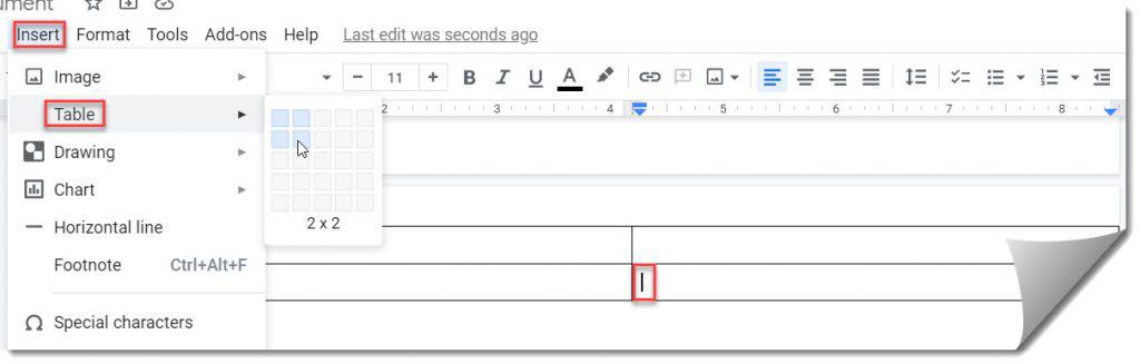 How To Make a Table Fit Page In Google Docs