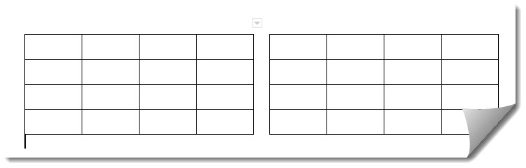How To Put Tables Side By Side In Google Docs