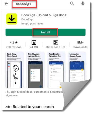 How to Add Signature In android