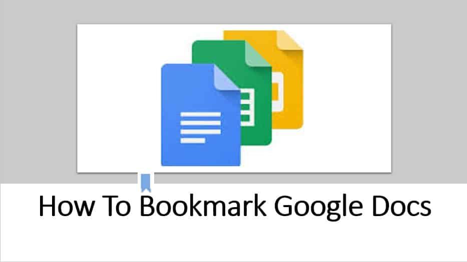 How to bookmark Google docs