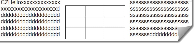 How to wrap text around table in a google doc