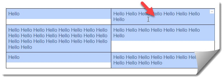 Move A Table In Google Docs