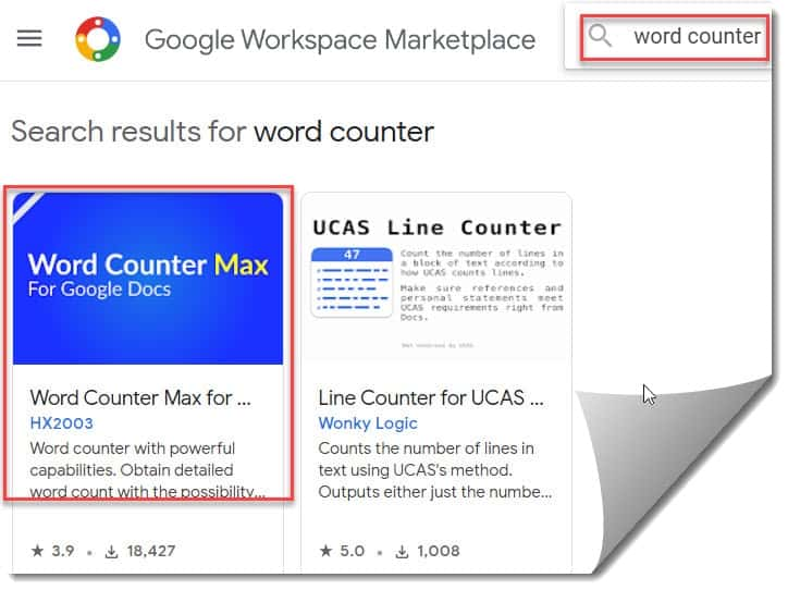 Word Counter Max For Google Docs Add-on