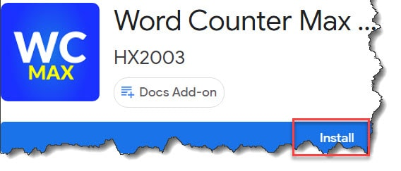 Word Counter Max For Google Docs