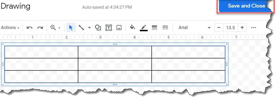 Wrap Text Around A Table Google Docs