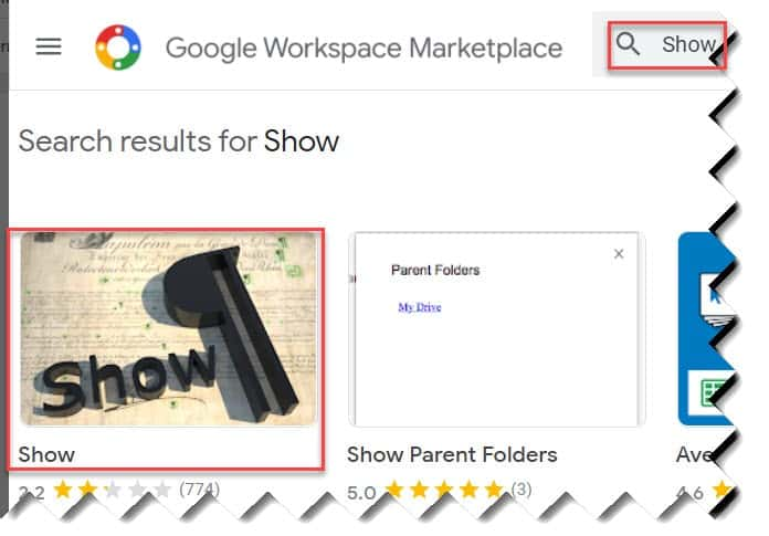 google docs show formatting marks