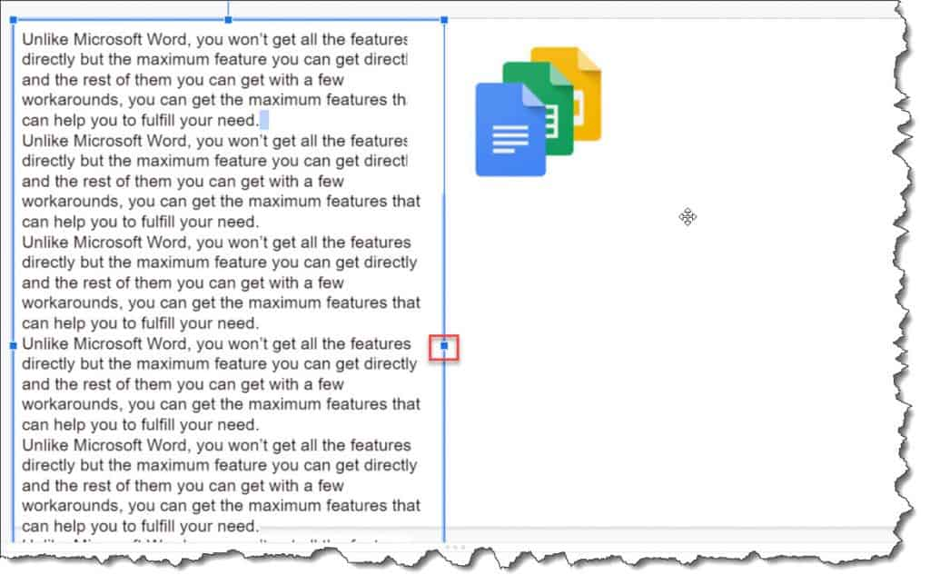how to wrap text in google slides 2021