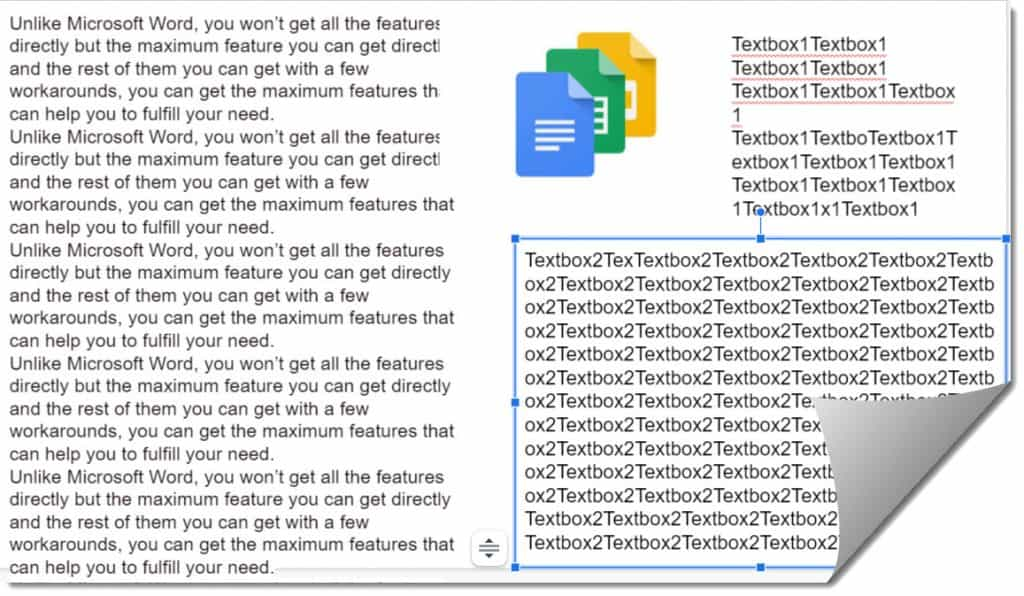 how to wrap text on google slides