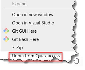 Add Google Drive to Quick access