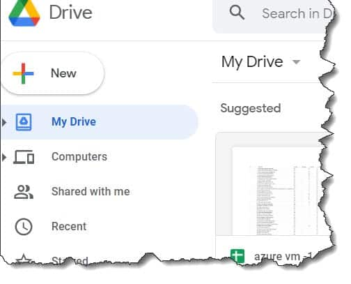 How to open Google Drive