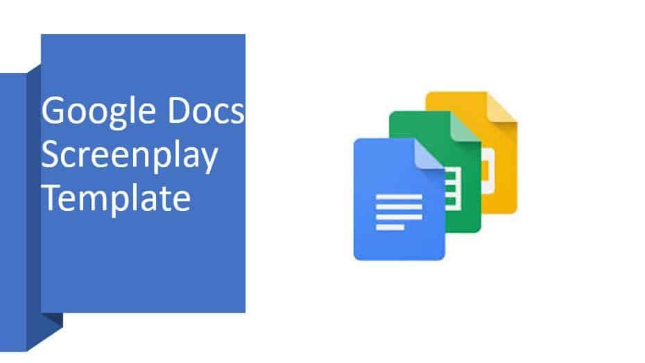 Google Docs Screenplay Template