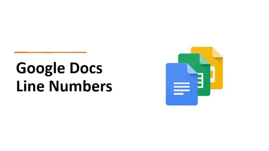 Google Docs Line Numbers