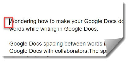 How to add an empty page in Google Docs