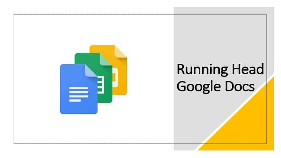 Running Head Google Docs